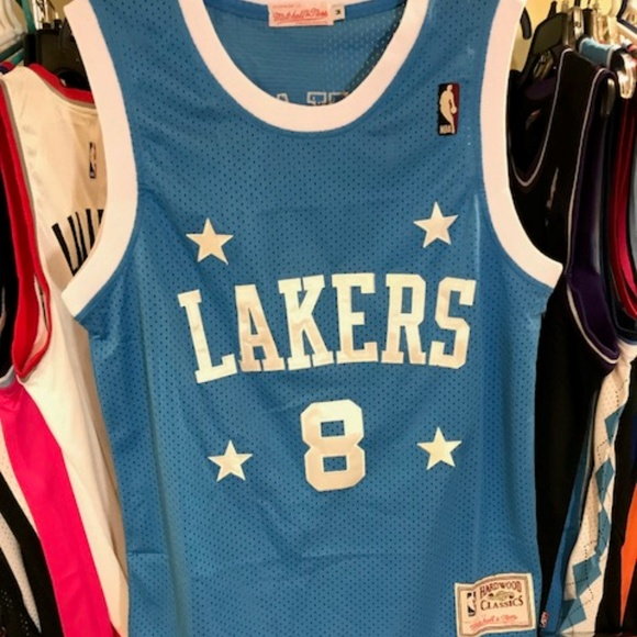 0b86c8bd6d7 Mitchell & Ness Shirts | Vintage Kobe Bryant 8 Nba Hwc Basketball ...